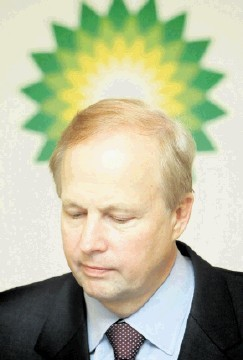 BP's group chief executive Bob Dudle