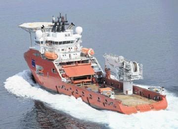 MUSCLE MACHINE: The construction vessel Skandi Skansen