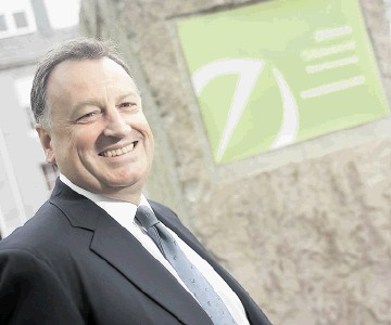 HAPPY BOSS: Energy Environmental Group managing director Bob Rooney