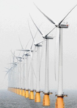PRESSURE: Improved connections are needed to ensure the full potential of offshore windfarms can be realised