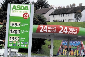 Asda to cut the cost of fuel