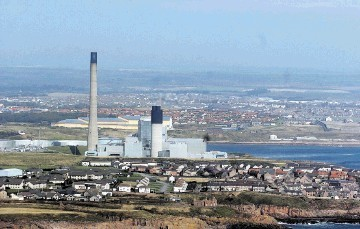 The power station at Peterhead could use carbon capture and storage