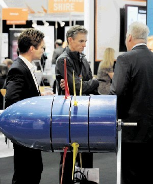 RESOUNDING SUCCESS: This year's  All-Energy show attracted around 8,000 people