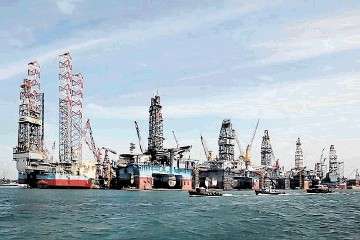 Singapore, the rig building capital of the world