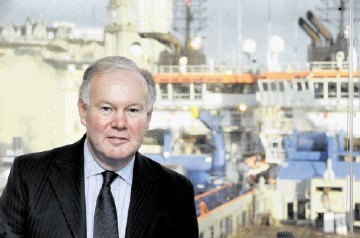 MAKING A DIFFERENCE: Charles Hendry . . .  encouraged company chairmen to use UK supply-chain firms