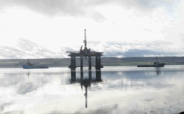 The Ocean Guardian in Cromarty Firth Port