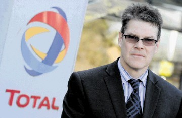 PRECAUTIONS: David Hainsworth, health, safety and environment manager at Total.     Kami Thomson