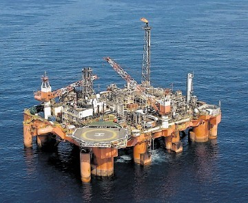 LUCRATIVE: Maersk Oil North Sea UK's Janice Alpha floating production unit which serves the firm's Janice field
