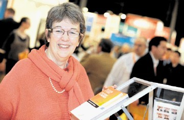GENERATING MAJOR BUZZ: Judith Patten . . . registrations are coming in thick and fast