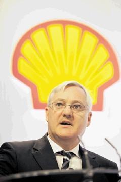 RETIREMENT: Royal Dutch Shell chief executive Peter Voser announced his surprise departure