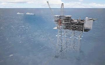 £18BILLION INVESTMENT: The Statoil planned development concept for the Mariner field