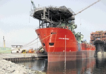 The BW Athena FPSO