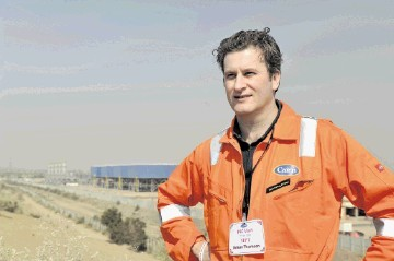 Simon Thomson, chief executive of Cairn Energy