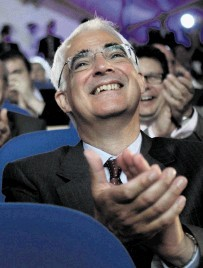 Alistair Darling during the launch of the formal campaign to keep Scotland in the UK