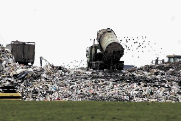 POWER PLANS: Tarbothill landfill site on the outskirts of Aberdeen wants to put up a wind turbine