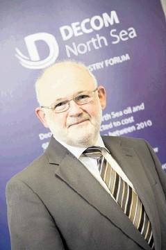 Decom North Sea chief executive Brian Nixon