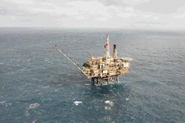 Shell's Gannet Alpha platform