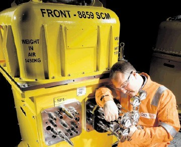 FOCUSED: Proserv  specialises in production technology services, including subsea control systems