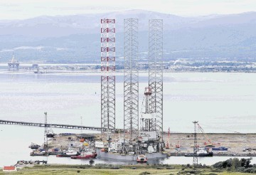 BIG BOOST: The group says the Nigg Energy Park has been an important contributor to its increased sales