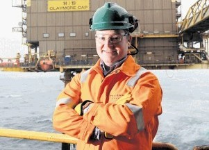 NORTH SEA GROWTH: Geoff Holmes . . . further acquisition opportunities