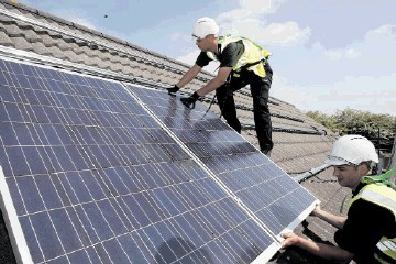 Solar panels offer users both energy efficiency and the chance to cut their carbon footprint