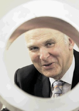 'NOT WORRIED ABOUT FOREIGN OWNERSHIP': UK business secretary Vince Cable