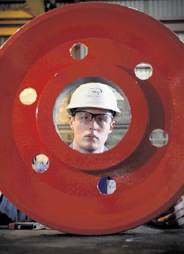 GROWING FAST: Aberdeen-based EnerMech now employs more than 1,400 staff