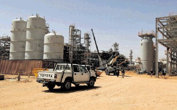 DEADLY ATTACK: The In Amenas gas field where hostages were held in January