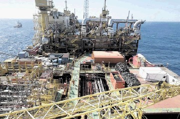 The Peregrino FPSO handles Brazilian heavy oil.