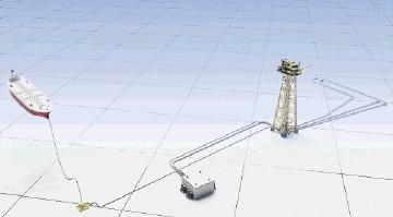 Solan field's subsea look-up