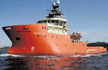 FLEET INVESTMENT: The Grampian Dee is one of the North Star vessels working on the BP contract