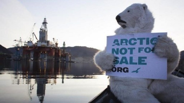 ARCTIC: Environmental concerns says Greenpeace