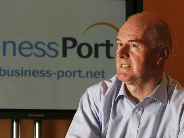 BusinessPort managing director Peter Shields.