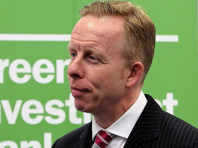 Shaun Kingsbury, chief executive of the Green Investment Bank.