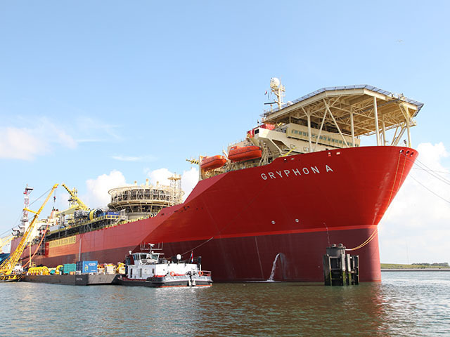 The Gryphon A FPSO