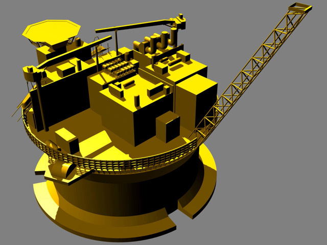 An impression of the Western Isles production vessel