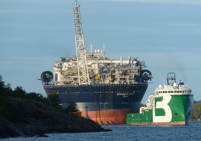 The Voyageur Spirit FPSO vessel is producing oil from Premier's Huntington field.