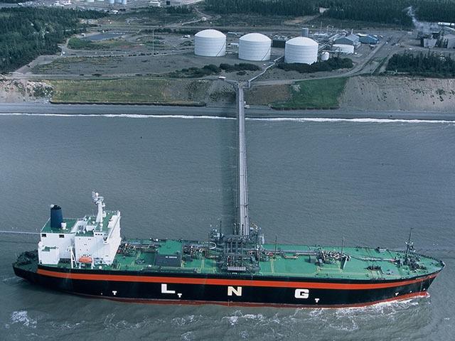 The Kenai LNG terminal