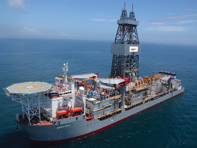 Ensco's DS4 drillship