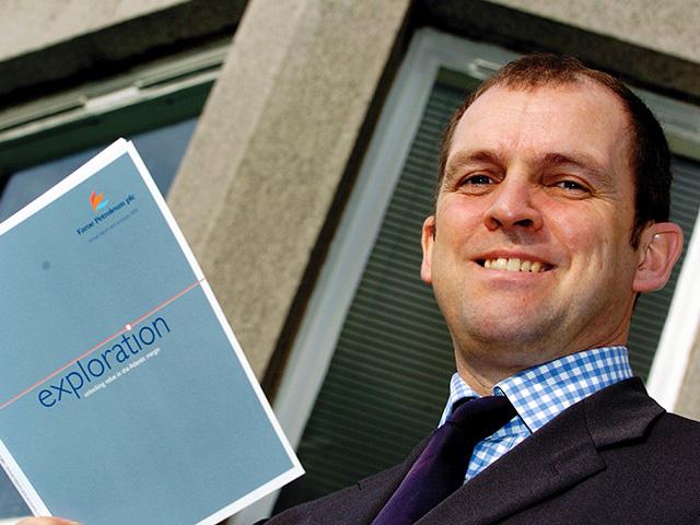 Faroe Petroleum chief executive Graham Stewart