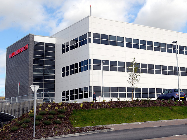 Halliburton's Aberdeen offices