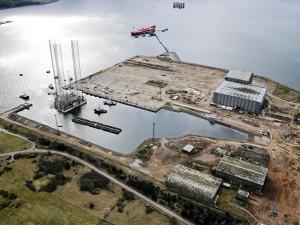 Global Energy Group's Nigg Yard