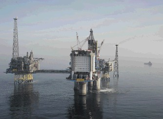 The Sleipner field in the North Sea