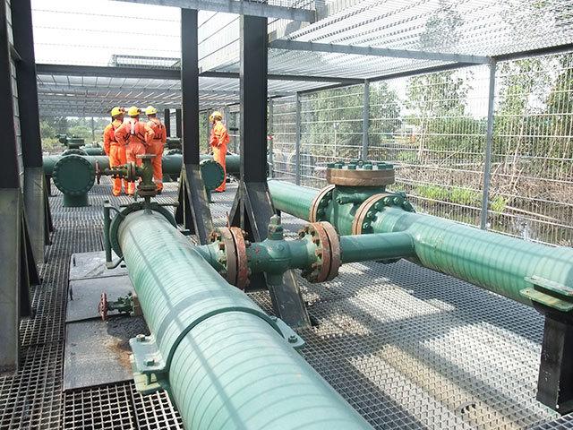 Gas transmission system