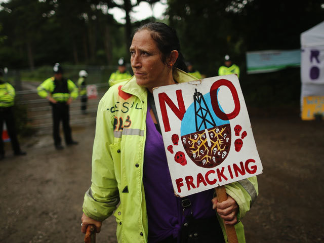 The fracking moratorium in Scotland is still in place.