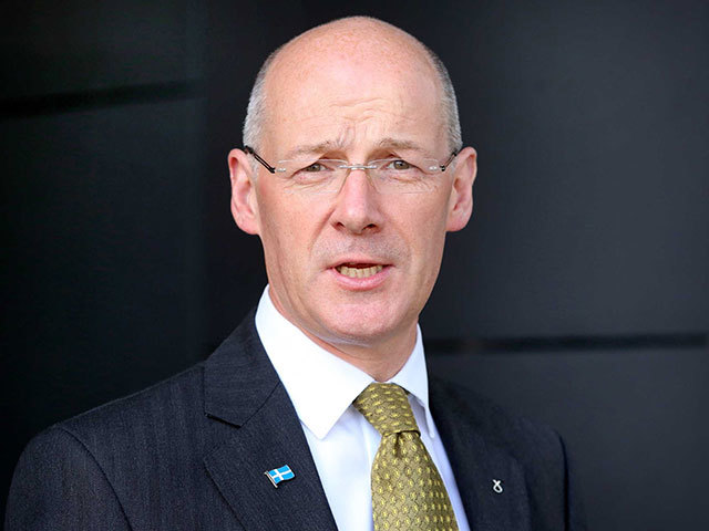 Deputy First Minister John Swinney
