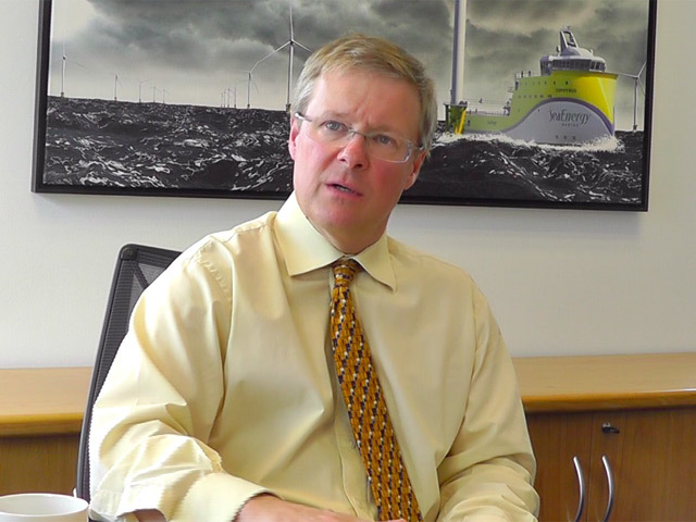 John Aldersey-Williams, SeaEnergy chief executive