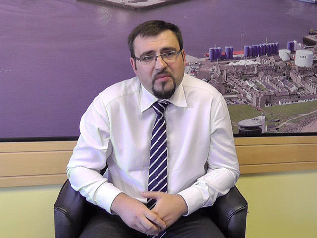 Vasyl Zhygalo, group exhibition director at Reed Exhibitions
