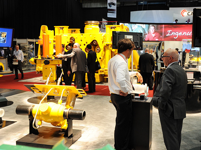 Delegates at Offshore Europe 2011