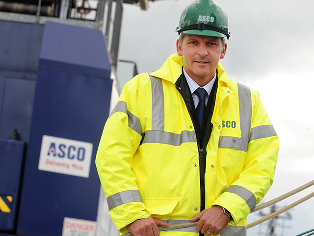 EXPANSION: Derek Smith . . . diversification geographically and in new services